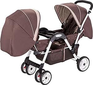 Amazon Com Amoroso Deluxe Double Stroller Baby