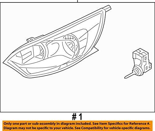 futurepost.co.nz Genuine Kia Headlamp Assembly Left 92101-1W340 ...
