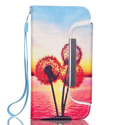 "MOONCASE iPhone 6 Case PU Leder Wallet Tasche Flip Etui Case Cover 2 in 1 abnehmbarer weicher TPU Innen Schale für iPhone 6 (4.7"") -FT08"