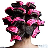 Autumn Water 6PCS/Set Magic Sponge Pillow Soft Roller Hair Best Flexible Foam and Sponge Hair Curlers DIY Styling Hair Rollers Tool For Women