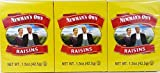 Newman's Own Organics California Raisins, 1.5-Ounce Boxes (Pack of 72)