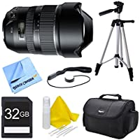 Tamron A012 SP 15-30mm F/2.8 Ultra-Wide Angle Zoom Di VC USD Lens for Nikon Bundle