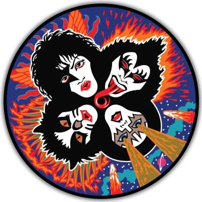 KISS Rock'n'Roll Over Vynil Car Sticker Decal - Select -