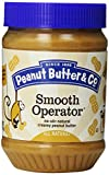 Peanut Butter & Co. Peanut Butter, Non-GMO, Gluten Free, Vegan, Smooth Operator, 28 Ounce Jars (Pack of 6) Review