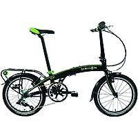 Dahon Qix D8 Vélo Pliable Mixte Adulte, Sable Noir, Taille 20