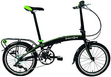 Dahon qix D8 – Bicicleta plegable para adulto, arena negro, talla 20