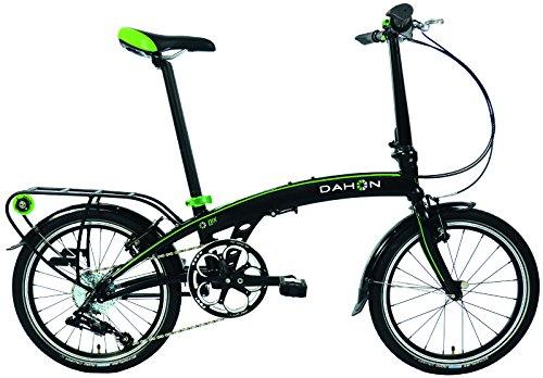 Dahon qix D8 - Bicicleta plegable para adulto, arena negro, talla 20: Amazon.es: Deportes y aire libre