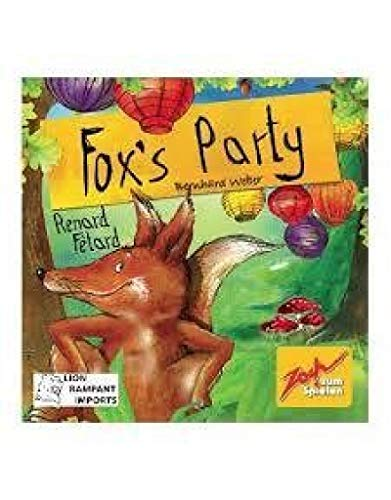 Fox's Party - Memory Card Game