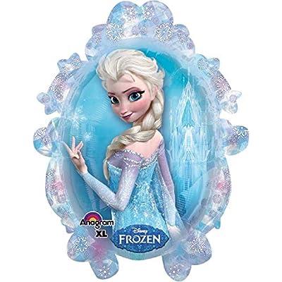 Anagram International 2816201 Disney Fr ozen Shape Balloon Pack, 31