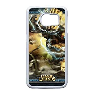 Plastic Durable Cover Samsung Galaxy S6 Edge Cell Phone Case White Dwlnx Game League Of Legends Durable Phone Case
