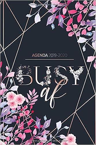Agenda 2019-2020: Agenda Organiseur pour ton quotidien ...