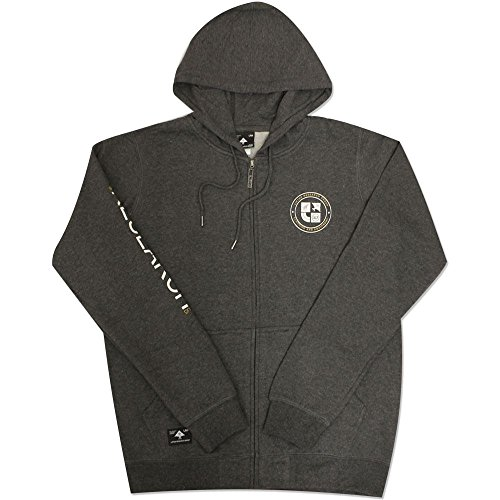 LRG Stronger Branches Zip up Hoodie Charcoal Heather by LRG