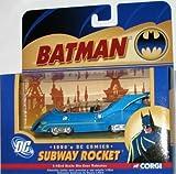 Corgi DC Comics Batman 1990s Subway Rocket US77351