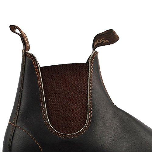 Blundstone Zapatos 500 Classic Botines de Cuero, Mujer Marron