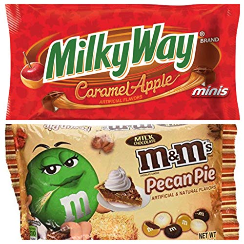 Fall Limited Edition M&M and Milky Way Candy Bundle -