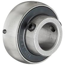 """UC204-12 Axle Insert Mounted Bearing, 3/4"""" Inside Diameter, Set screw Lock, Steel, Inch"""