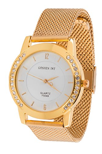 new-designer-ladies-watch-on-sale-rose-gold-plated-stainless-steel-bracelet-waterproof-adjustable-wr