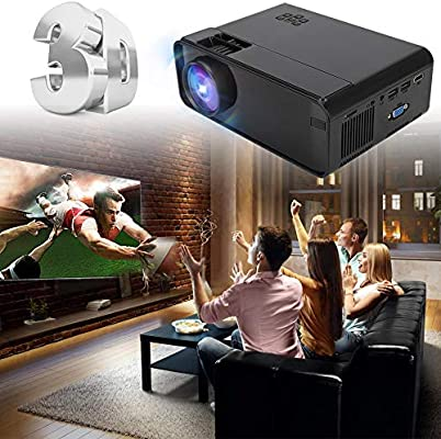 Proyector, Proyector UHD 4K WiFi,1080P LED Proyector Bluetooth ...
