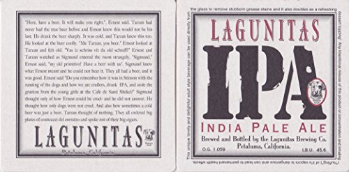 Lagunitas Brewing Company - Set of (2) Double-sided -