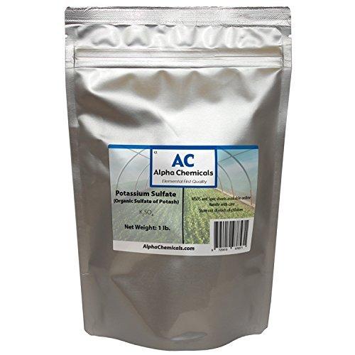 1 Pound – Potassium Sulfate – Sulfate of Potash
