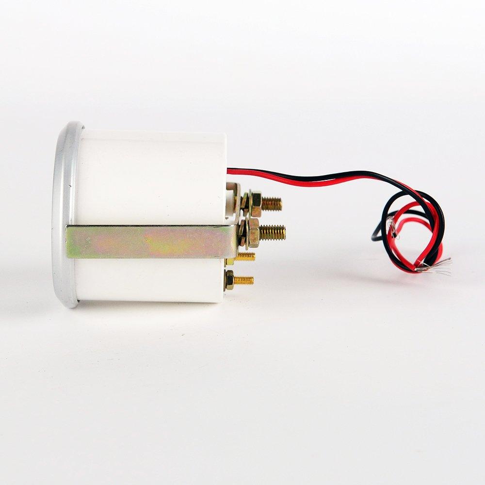 Jili Online 52mm Car Oil Temp Measure Panel Blue LED Temperature Gauge Tester Meter by Jili Online (Image #3)