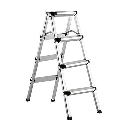 Magnificent Amazon Com Lxla Thicken 3 4 Step Ladder Stool Aluminum Machost Co Dining Chair Design Ideas Machostcouk
