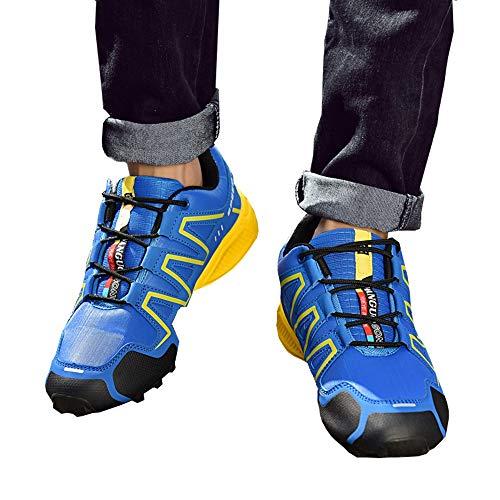 Cool ball Pour Air Running Lacer Sport Lettres Falaiduo Chaussures Anti En Dcontracte Multicolores Bleu Couture De Mode Basket Plein Hommes drapantes Street qwRCZ
