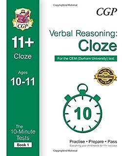 10 minute tests for 11 comprehension ages 10 11 book 1 cem test