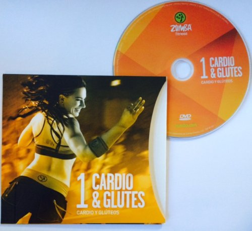 Zumba Fitness Cardio & Glutes DVD From The Target Zone DVD Set! Spanish/English!