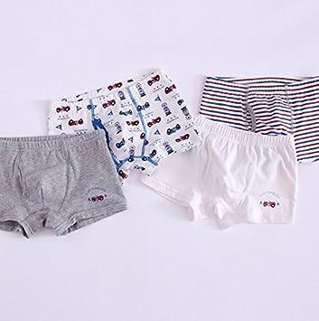 Boys Boxer shorts underwear Cotton hijos por cuatro pack bebe ...