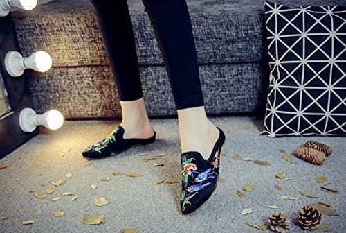 Lazutom Lazutom Femme Femme Pour Lazutom Sandales Noir Noir Pour Sandales Pour Sandales Femme rx6rnAYPqw
