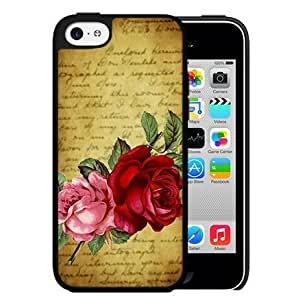 For Iphone 5/5S Case Cover PC Phone (rose Close Up)