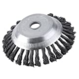 Baynne Weed Brush Rotary Joint Twist Knot Steel