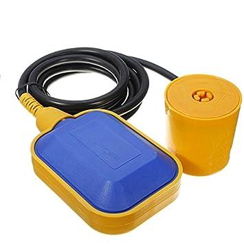 GOZAR Interruptor De Flotador De Coche Fluido Líquido Nivel De Agua Sensor Controlador: Amazon.es: Hogar
