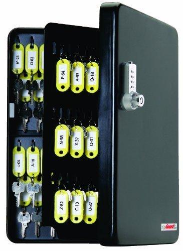 Cam 4 U (KeyGuard SL-9122-U Dual Access Combination Key Cabinet With Chrome 4-Dial Combi-Cam Ultra - 122 Hook by KeyGuard)