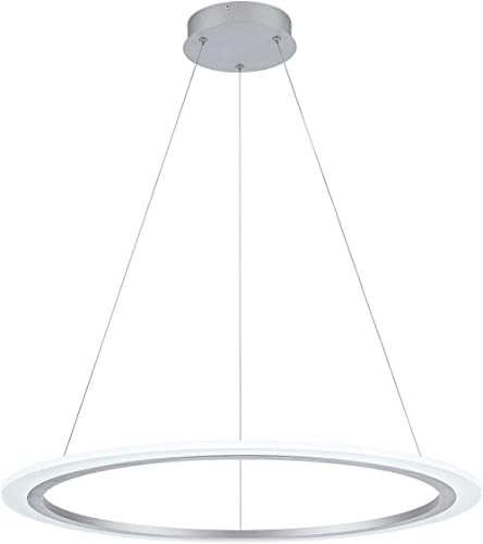Royal Pearl Modern LED Chandelier Dimmable 1 Ring Acrylic Contemporary LED Pendant Light