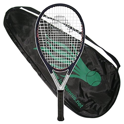 Head Ti.S5 CZ Comfort Zone Tennis Racquet - Strung with Cover (4-1/4)