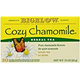 Bigelow Cozy Chamomile Herbal Tea 20 Count