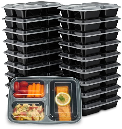 KEEP FRESH BBQ MUST2GO FOOD CONTAINERS BOX AIRTIGHT PACK OF 4 BPA FREE PLASTIC
