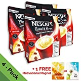 nescafe instant coffee colombian - [4 PACK] Nescafé 3 in 1 Instant Coffee Sticks ORIGINAL - Best Asian Coffee Imported from Nestle Malaysia (112 Sticks)