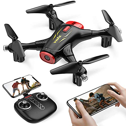Syma X400 FPV Drone with Camera for Kids and Adults 720P HD WiFi Transmission, RC Quadcopter for Beginners Boys with Altitude Hold, One Key Start/Land, Draw Path, 3D Flips 2 Modular Batteries