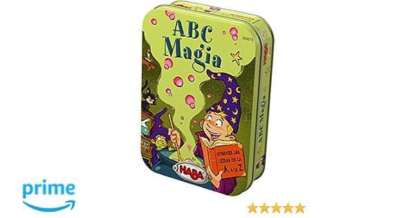 Haba- ABC Magia - ESP, Multicolor (Habermass 304073)