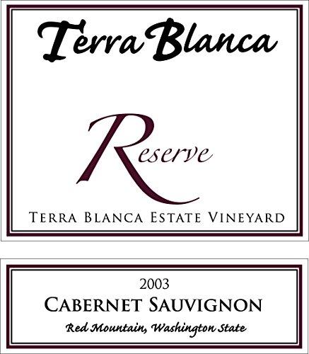 2003 Terra Blanca Reserve Red Mountain Cabernet Sauvignon 750 mL