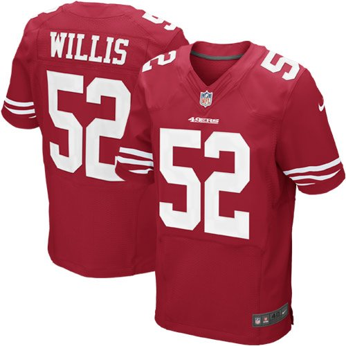 pretty nice af923 3dd0b Amazon.com: Nike San Francisco 49ers NFL Patrick Willis #52 ...