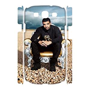 J-LV-F Drake Customized Hard 3D Case For Samsung Galaxy S3 I9300