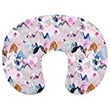 SuperUS Stretchy Nursing Pillow Covers- Slipcovers for Breastfeeding Moms,Snug Fits On Infant Nursing Pillow