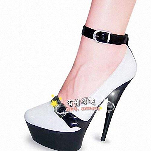 15 15 15 cm hochhackigen schuhe fashion show schuhe 7083e6