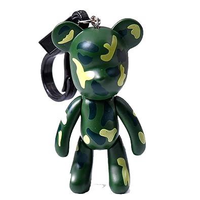 Popobe Medicom Bearbrick Teddy Kawaii - Llavero, diseño de ...