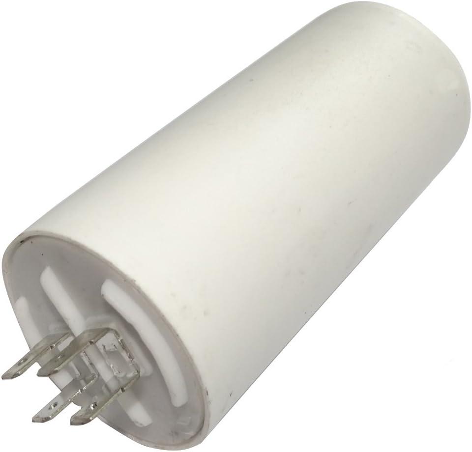 AERZETIX: Condensador permanente para trabajo del motor 50µF 450V con terminales Ø50x106mm ±5% 3000h C18688