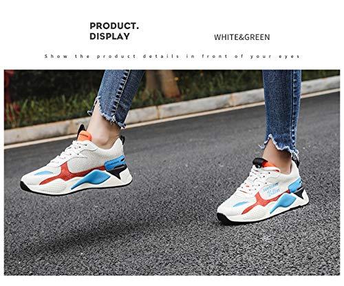 Deportivos 6size De Zapatos A Juego Mujer Estudiante 7 Colores Zhijinli Retro 5 Plataforma Transpirables Con Tamaño Harajuku qB4xaY